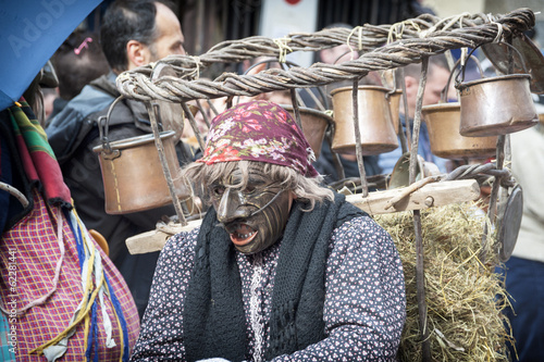 Fotografie, Obraz  Carnevale di Schignano