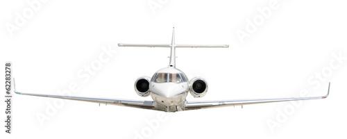 Fotografia Corporate jet isolated on white