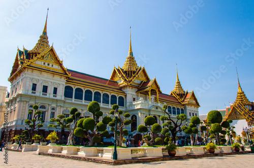 Grand palace bangkok, THAILAND Canvas Print