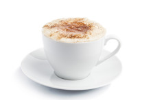 Cappuccino Cup Of Coffee