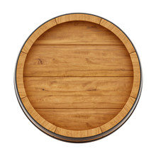 Render Of A Wine Barrel From T...