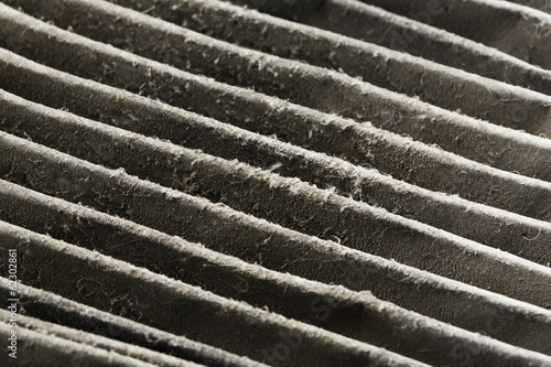 Photo  Dirty air filter