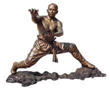 Shaolin Warriors Monk Bronze S...