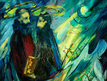 Peter And Paul , Painting By O...