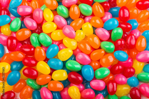 Poster Confiserie Colorful jellybeans