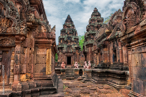 Photo Banteay Srei - 10th century Hindu temple dedicated to Shiva
