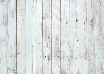 FototapetaBlack and white background of wooden plank