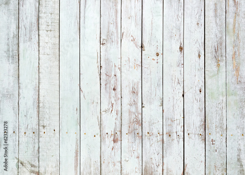 Fotografie, Obraz  Black and white background of wooden plank