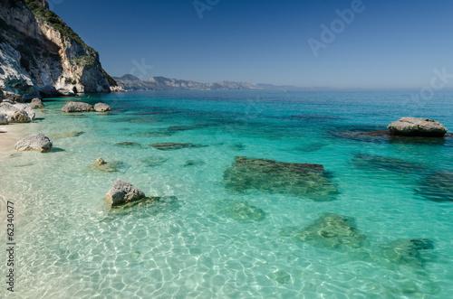 Photo  Cala Goloritzè, Gulf Of Orosei, Sardinia.