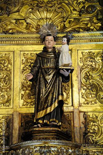 Canvas Print Statue de Saint Antoine