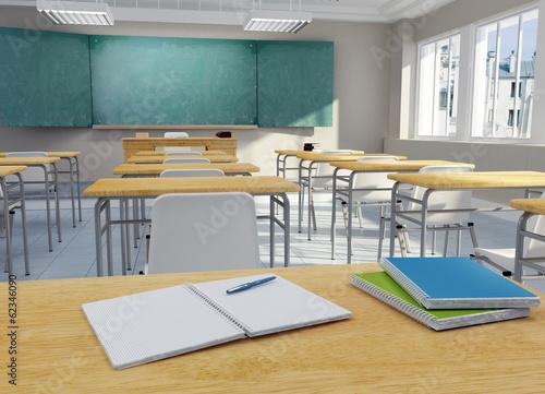 Fotografie, Obraz  School classroom