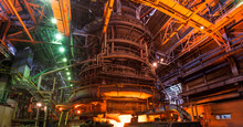 Cast Iron Smelting, Domain Production In Metallurgy.