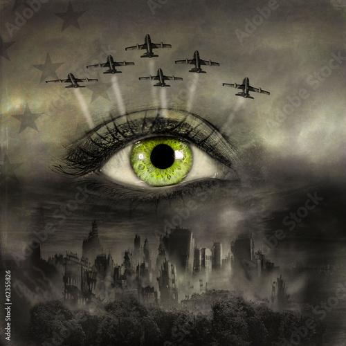 apokalipsa-wojenna-na-kobiecej-twarzy-koncepcja-konca-swiata