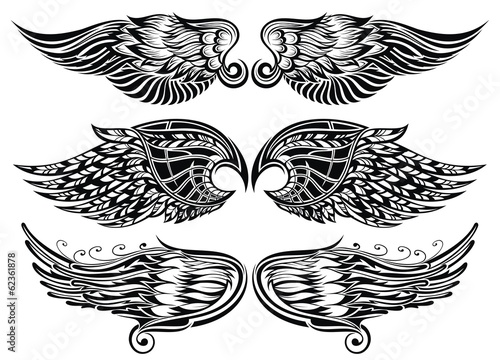 Foto  Wings Tattoo Design