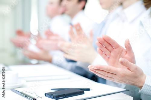 Fotografía  applause on  conference