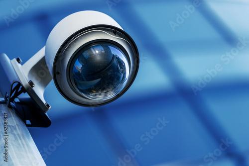 Obraz security camera and urban video - fototapety do salonu