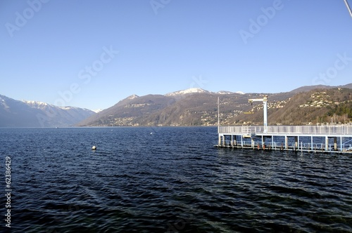 Fotografie, Obraz  Major Lake, Luino