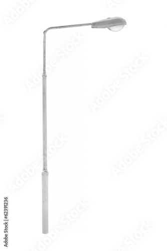 Light pole isolated Wall mural