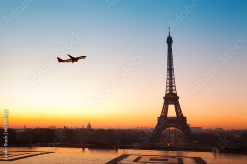 Photo sur Toile Paris travel to Paris