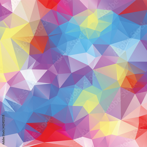 Fototapety, obrazy: Abstract triangle background