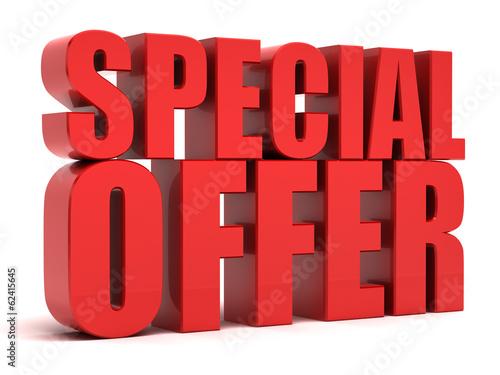 Fotografía  Special Offer 3d