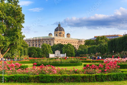 Photo sur Toile Vienne Park in Vienna