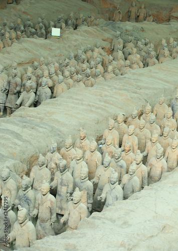 Foto op Aluminium Xian Terra Cotta Warriors in Xian, China
