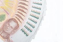 Spread Of 1000 Thai Baht Money