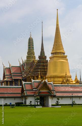 Wat Phra Kaew in Bangkok, Thailand Poster