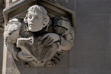 Architectural Detail Medieval Figure