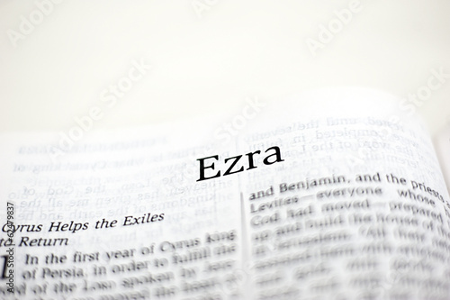 Photo  Book of Ezra