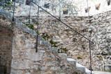 Stare kamienne schody