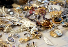 Vintage Necklaces And Jewelry For Sale In The Antique Shop