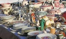 Furnishings And Ceramic Plates...