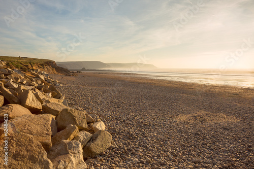 Fotomural Widemouth Bay Cornwall Uk