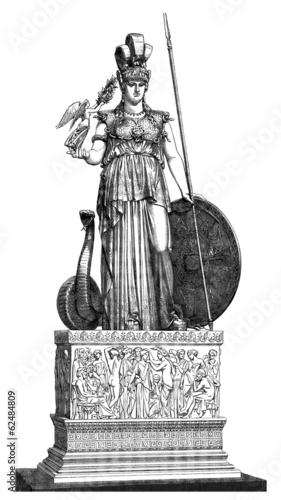 Fotografia Ancient Greece -  Goddess Athena/Minerva