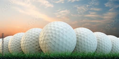 Fotografia  golf balls