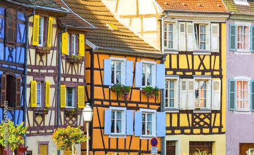Colmar (Alsace) - Petite Venise Canvas Print