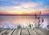 Fototapeta Fototapety na sufit - el lago de las nubes de colores