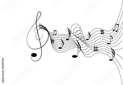 Fototapeta Fantasia musicale