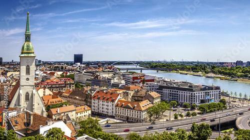 Photo  Bratislava skyline