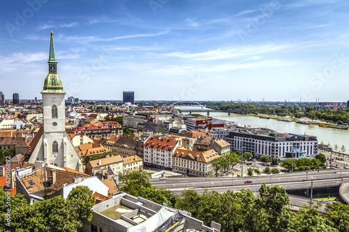 Bratislava skyline Canvas Print