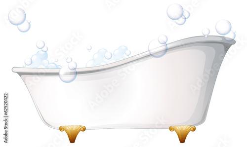 A bathtub Fototapet