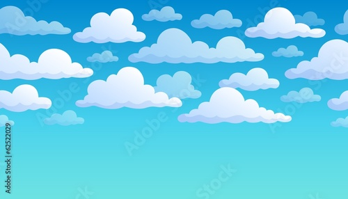 Cloudy sky background 7