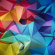 Leinwanddruck Bild - Abstract geometric background