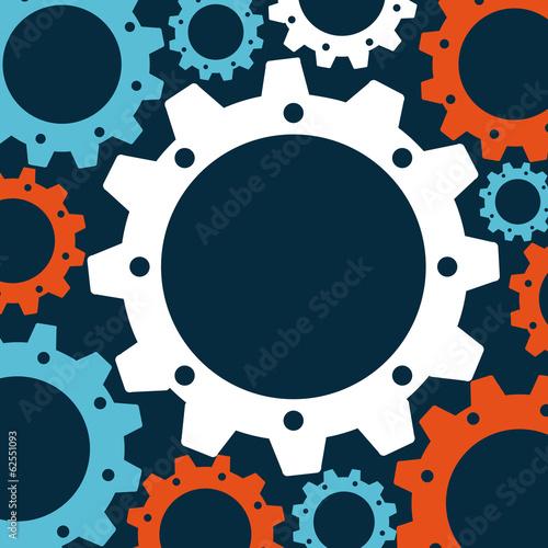 Fototapety, obrazy: gears design