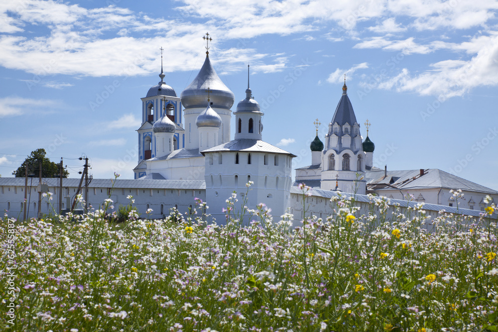 Fototapety, obrazy: Pereslavl Zalessky. Nikitsky monastery. Russia