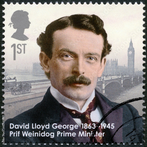 Photo  UNITED KINGDOM - 2013: shows prime minister David Lloyd George
