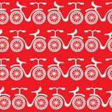 wzór białe rowery - 62568652