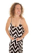 Woman Chevon Dress Stand Flex